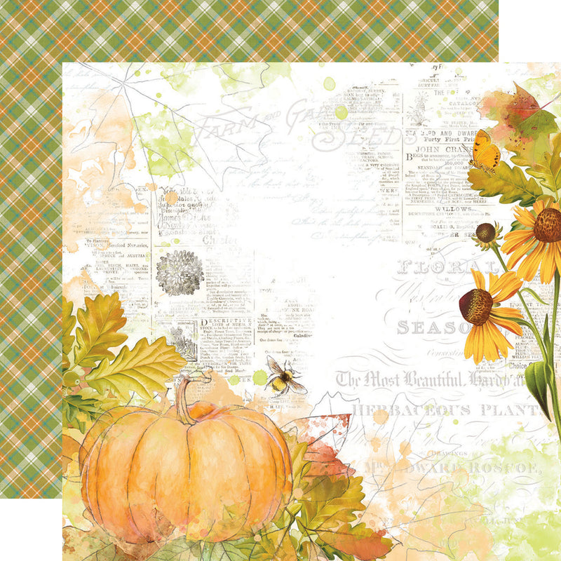 Autumn Splendor 12x12 Paper - Season of Change