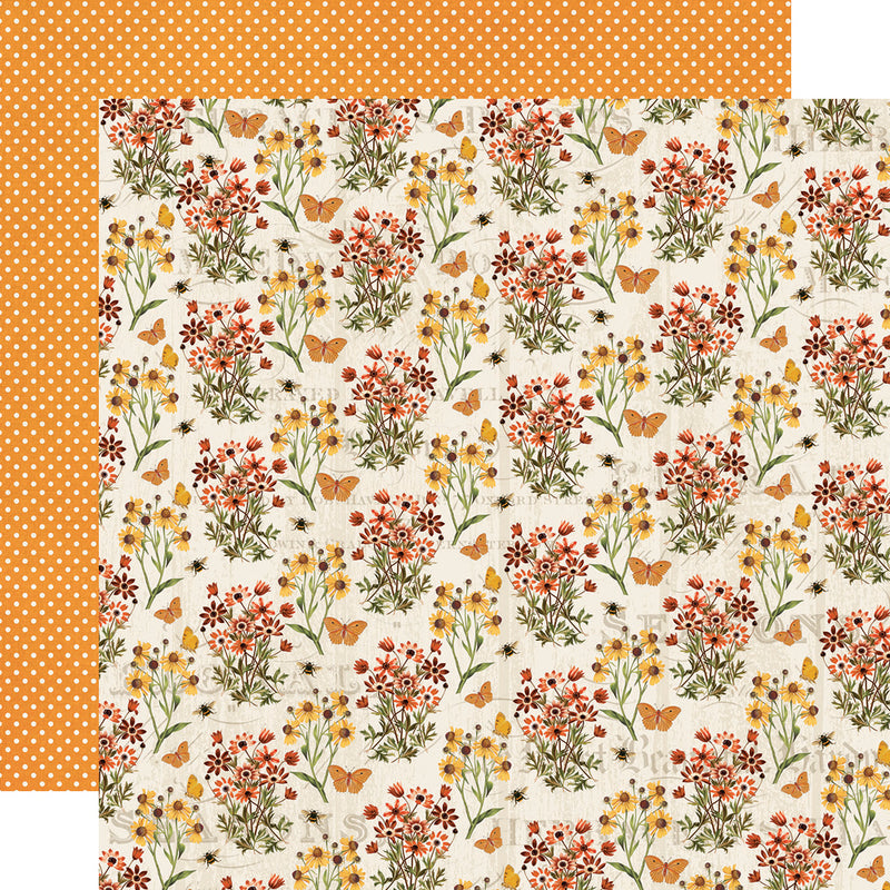 Autumn Splendor 12x12 Banner Sticker
