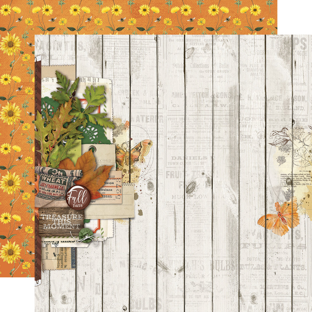 Autumn Splendor 12x12 Paper - Fall Blessings