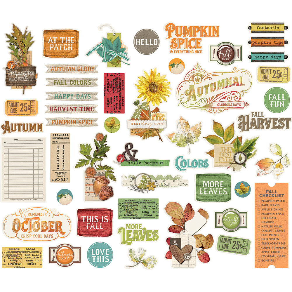 Autumn Splendor Bits & Pieces
