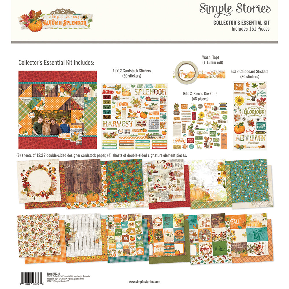 Autumn Splendor Collector's Essential Kit