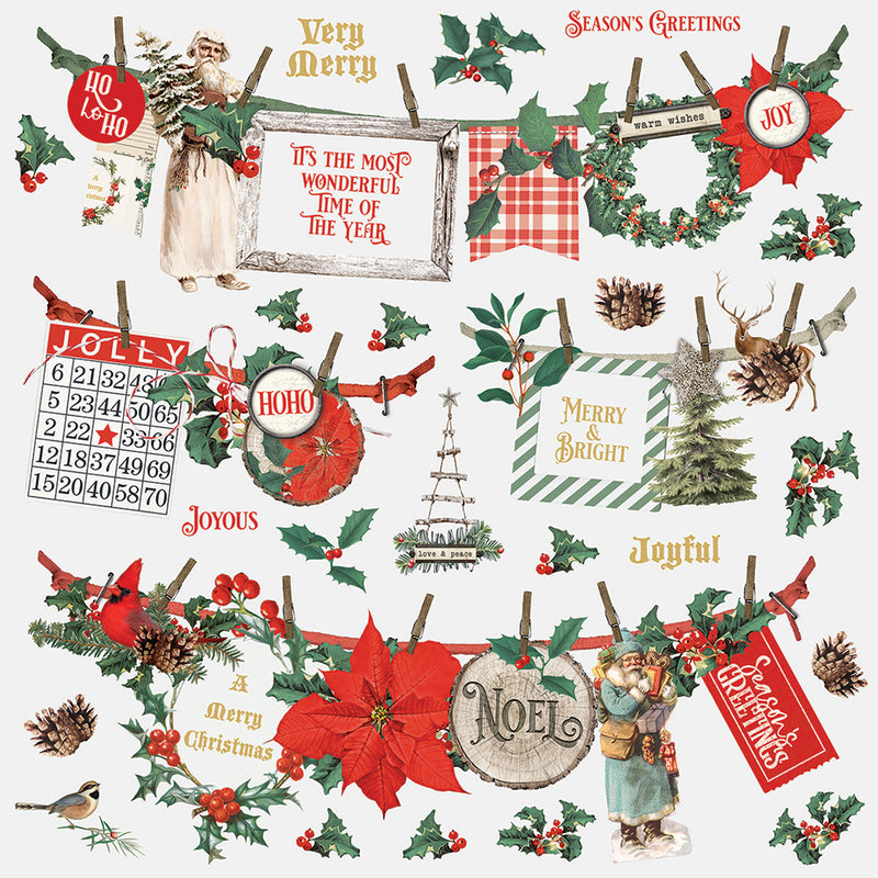Country Christmas 12x12 Paper - Glad Tidings