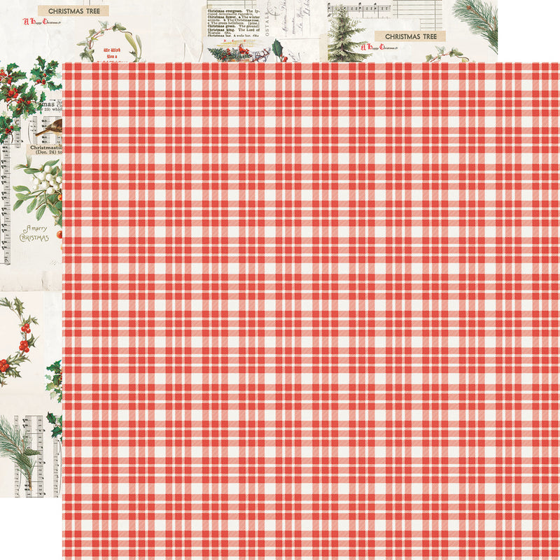 Country Christmas 12x12 Paper - Wonderful Life