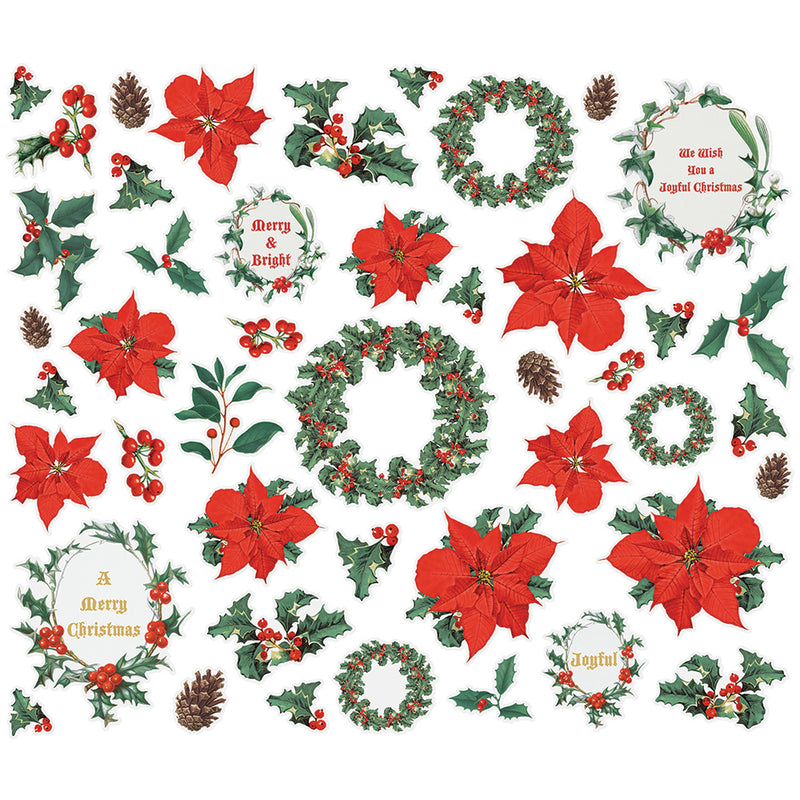 Country Christmas Bits & Pieces - Floral