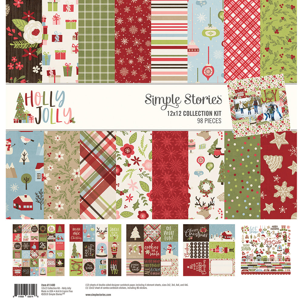 Holly Jolly 12x12 Collection Kit