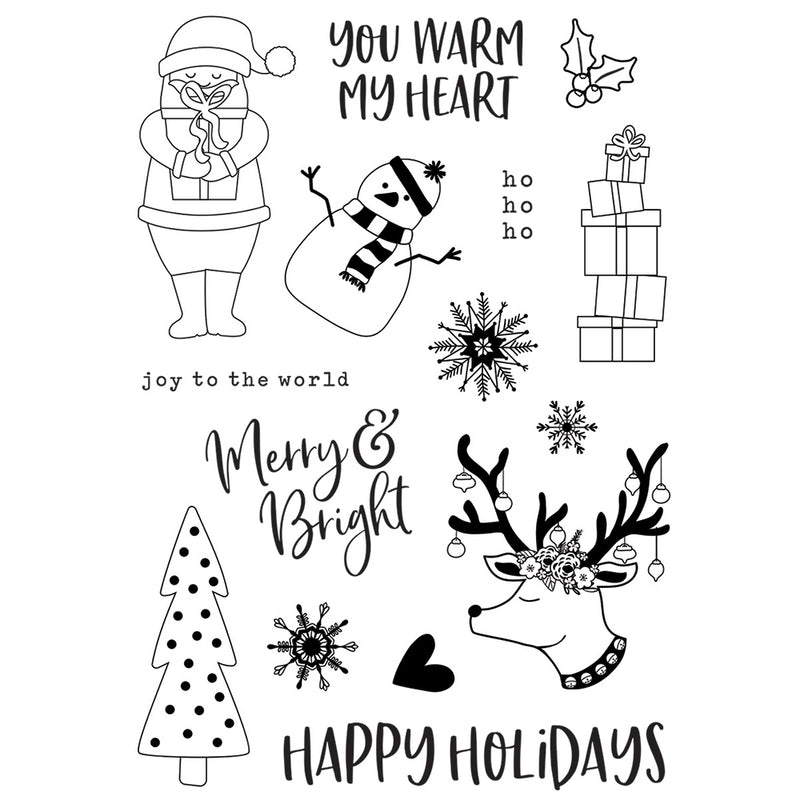 Holly Jolly Stamps