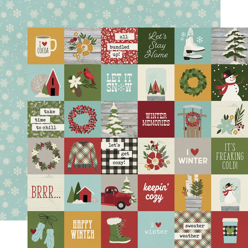 Winter Farmhouse 12x12 Collection Kit