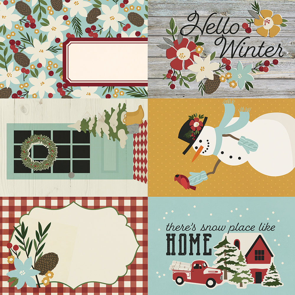 Winter Farmhouse 4x6 Elements