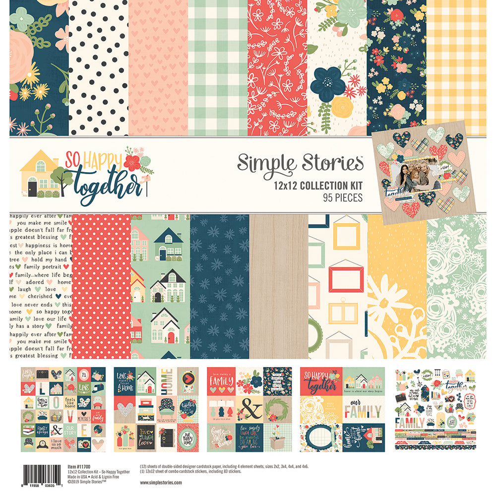 So Happy Together 12x12 Collection Kit
