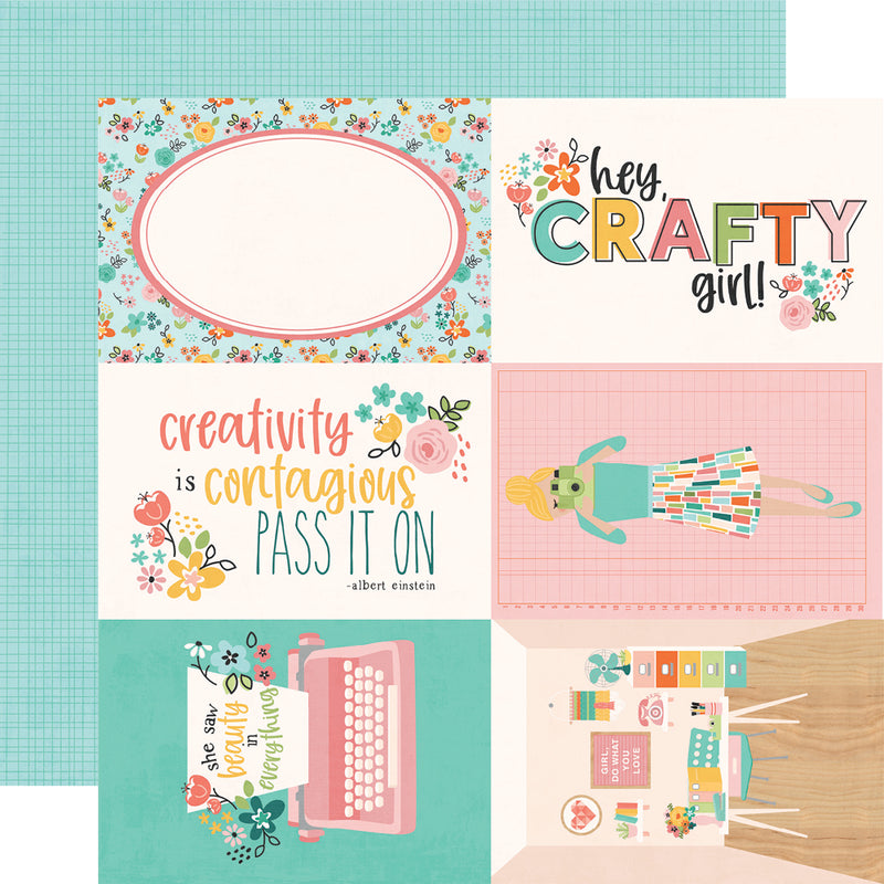 Hey, Crafty Girl! 4x6 Elements
