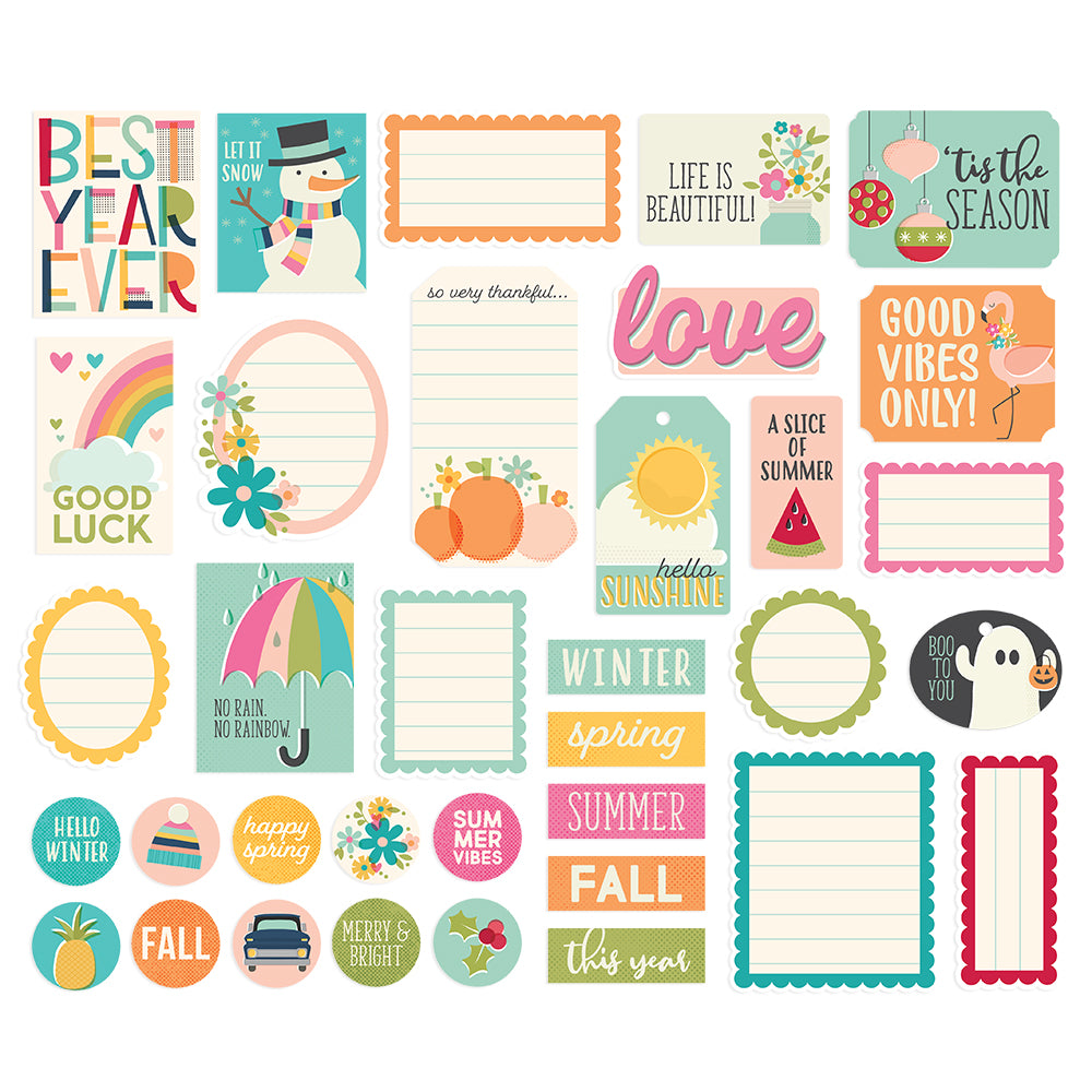 Best Year Ever Journal Bits & Pieces