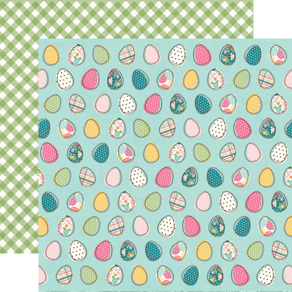 Hip Hop Hooray 12x12 Paper - Egg-stra Special