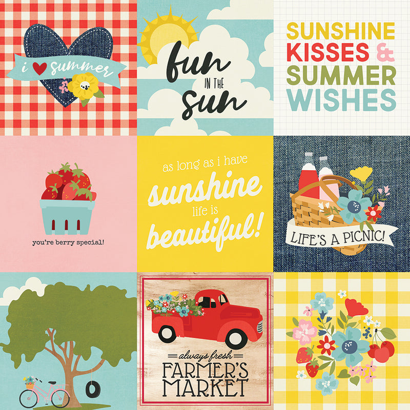 Summer Farmhouse 4x4 Elements