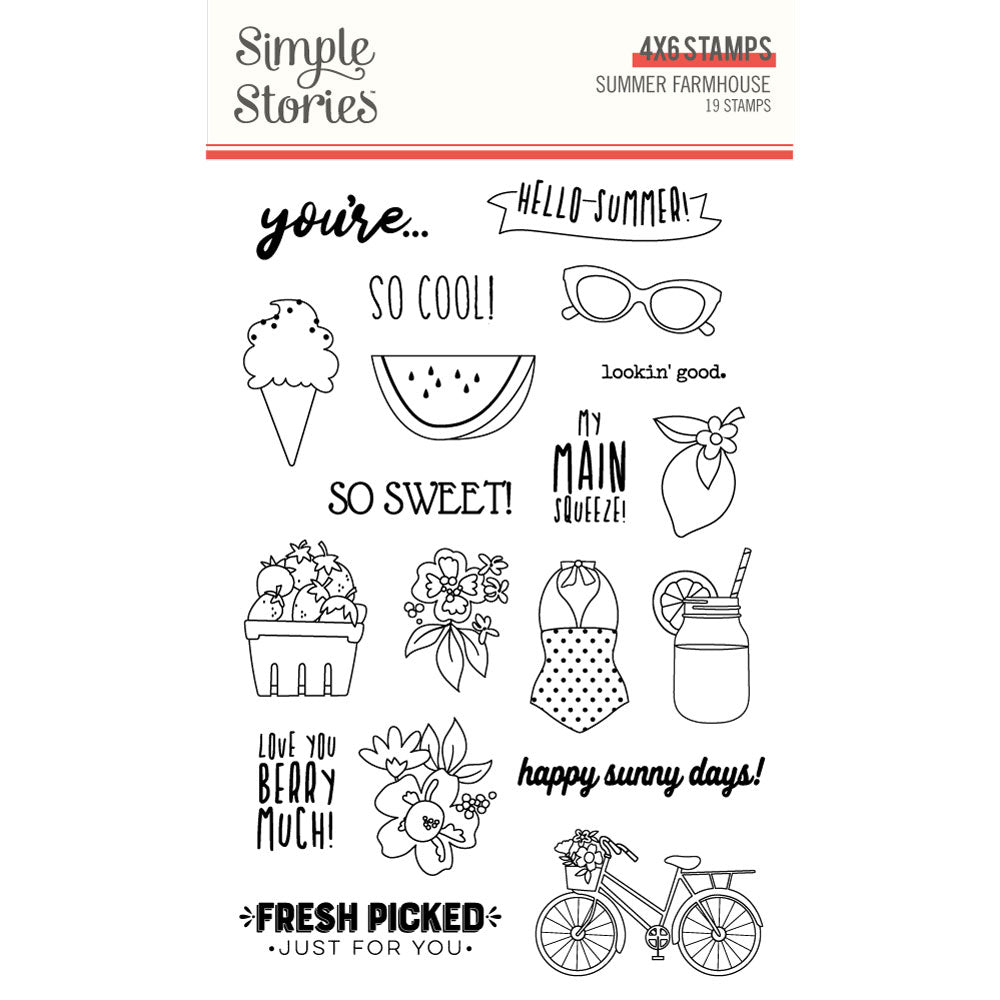 Summer Farmhouse Stamps