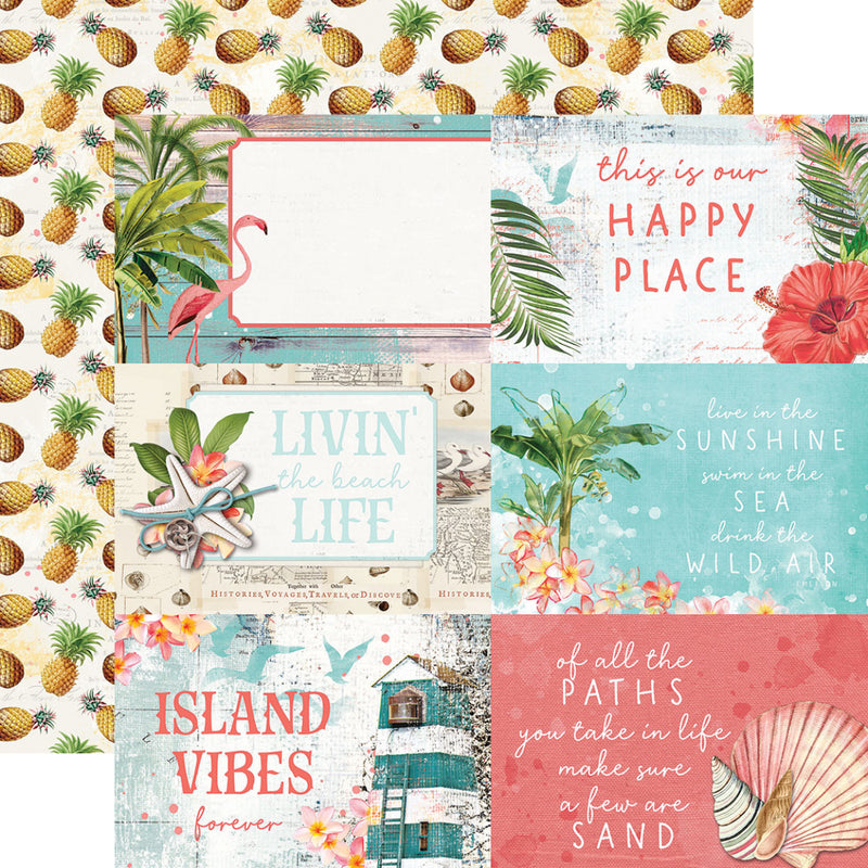 Simple Vintage Coastal 12x12 Collection Kit