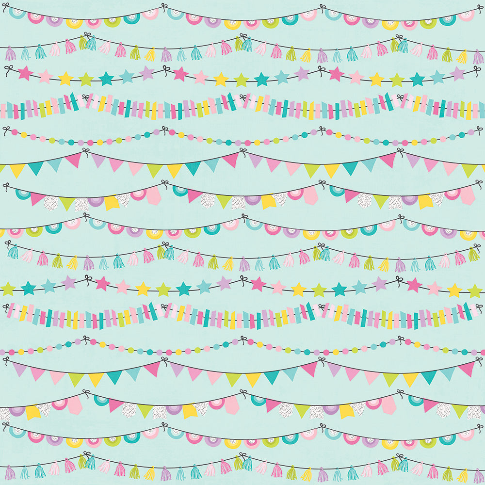Magical Birthday 12x12 Paper - Party Time