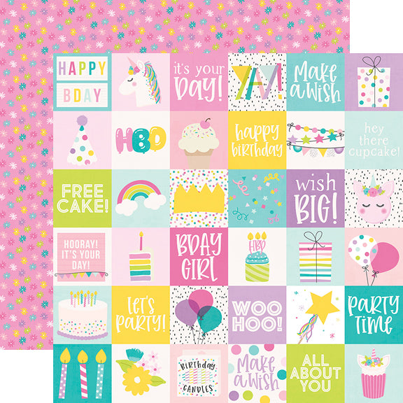 Magical Birthday 6x8 Pad