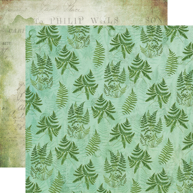 Simple Vintage Great Escape 6x6 Stencil - Butterfly Fern