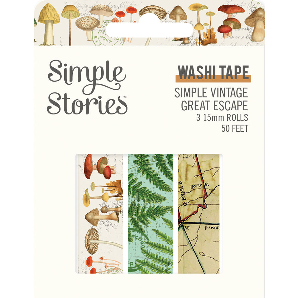 Simple Vintage Great Escape Washi Tape