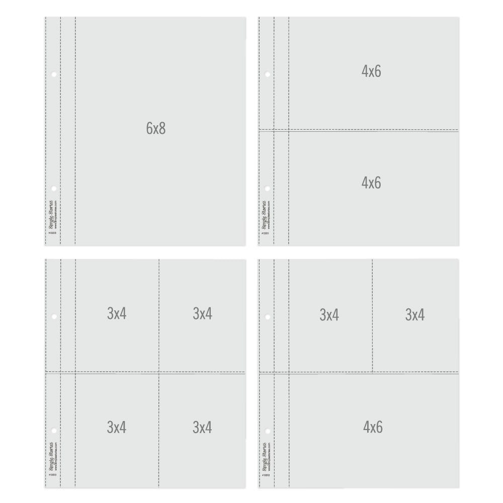 6X8 SN@P! Flipbook Pages - Multi Pack Refills