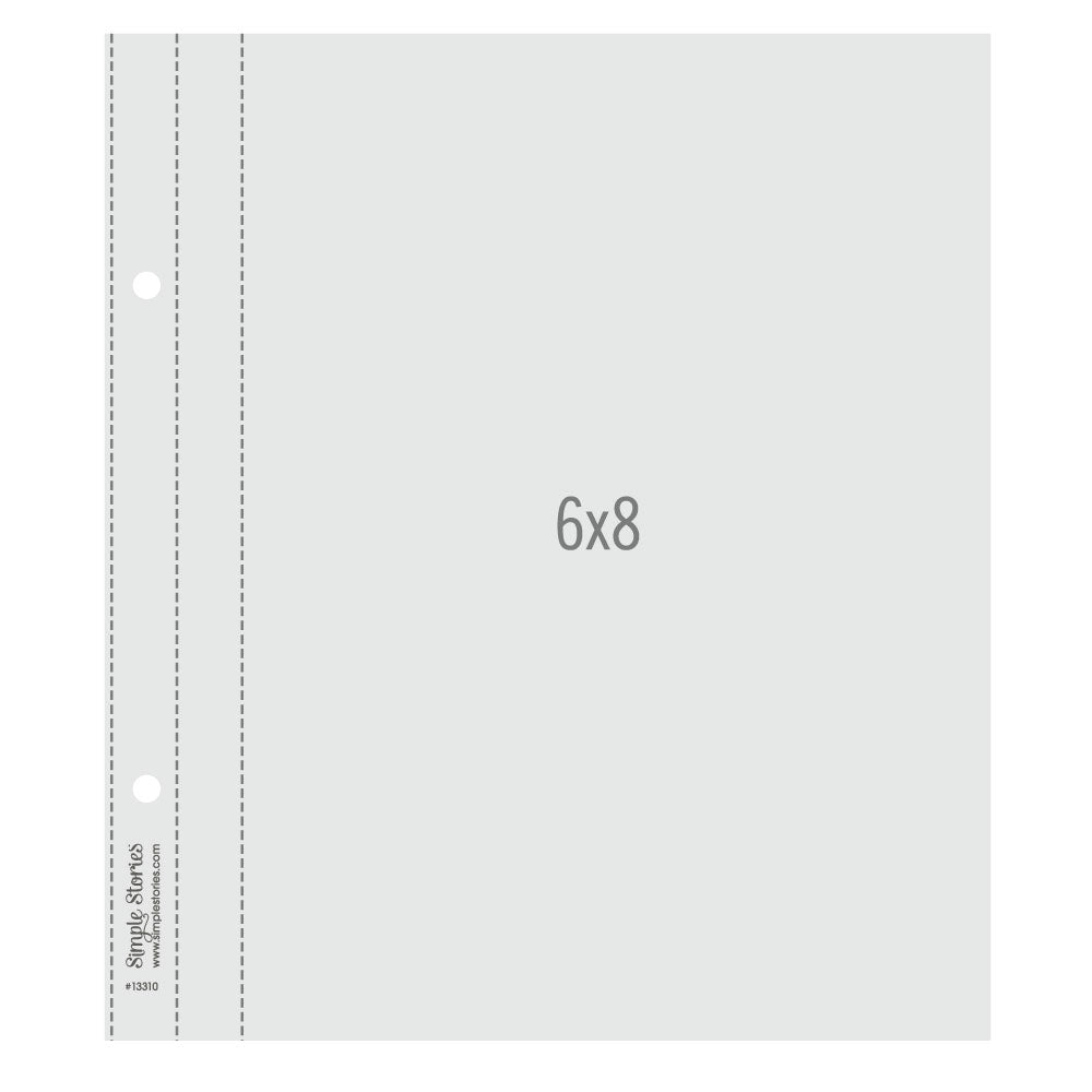 6X8 SN@P! Flipbook Pages - 6x8 Pack Refills