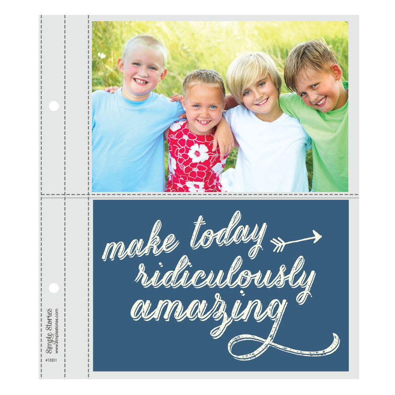 6X8 SN@P! Flipbook Pages - 4x6 Pack Refills