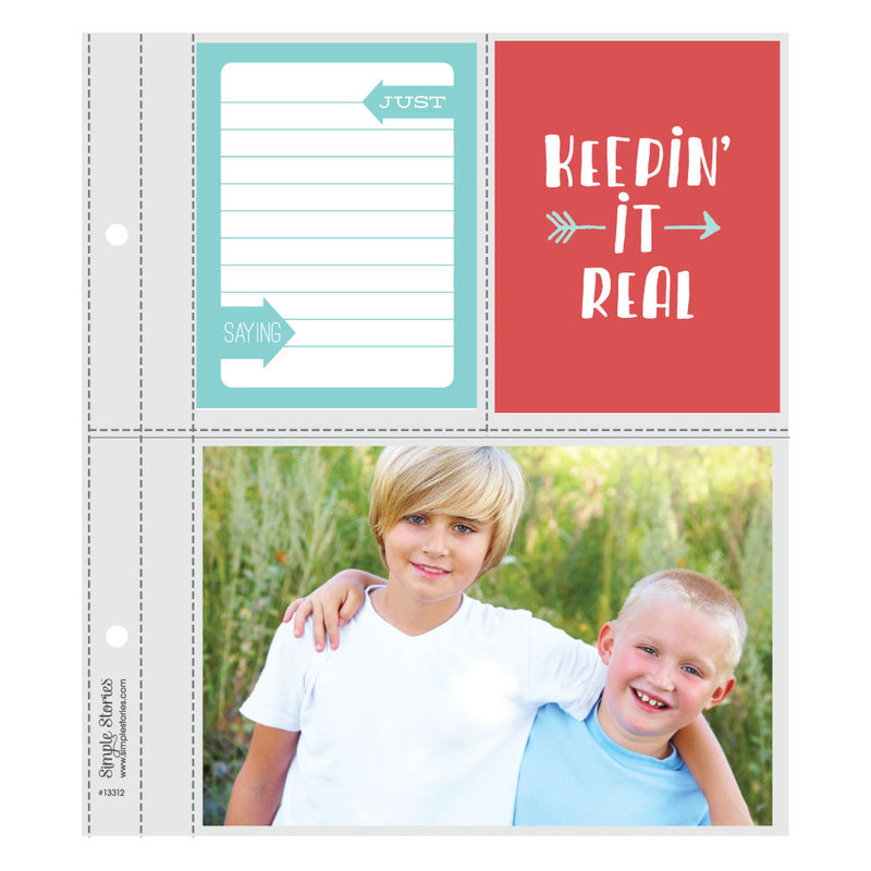 6X8 SN@P! Flipbook Pages - 3x4/4x6 Pack Refills