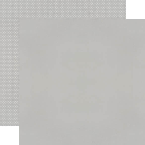 Color Vibe 12x12 Textured Cardstock - Grey