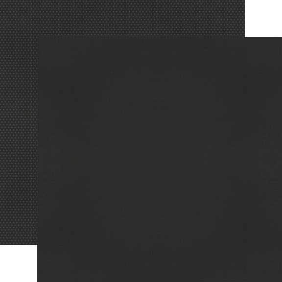 Color Vibe 12x12 Textured Cardstock - Black