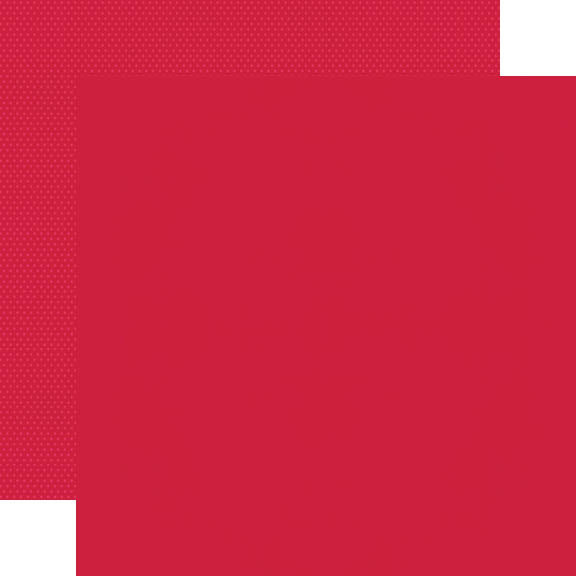 Color Vibe 12x12 Textured Cardstock - Red
