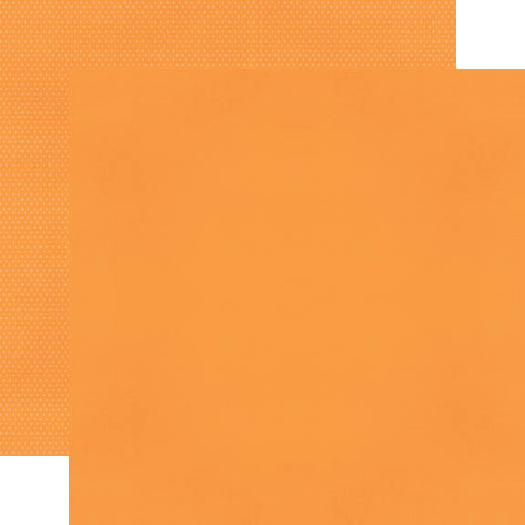 Color Vibe 12x12 Textured Cardstock - Orange