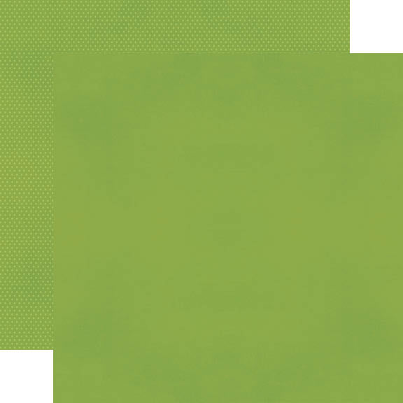 Color Vibe 12x12 Textured Cardstock - Green