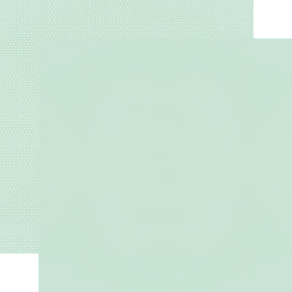 Color Vibe 12x12 Textured Cardstock - Mint