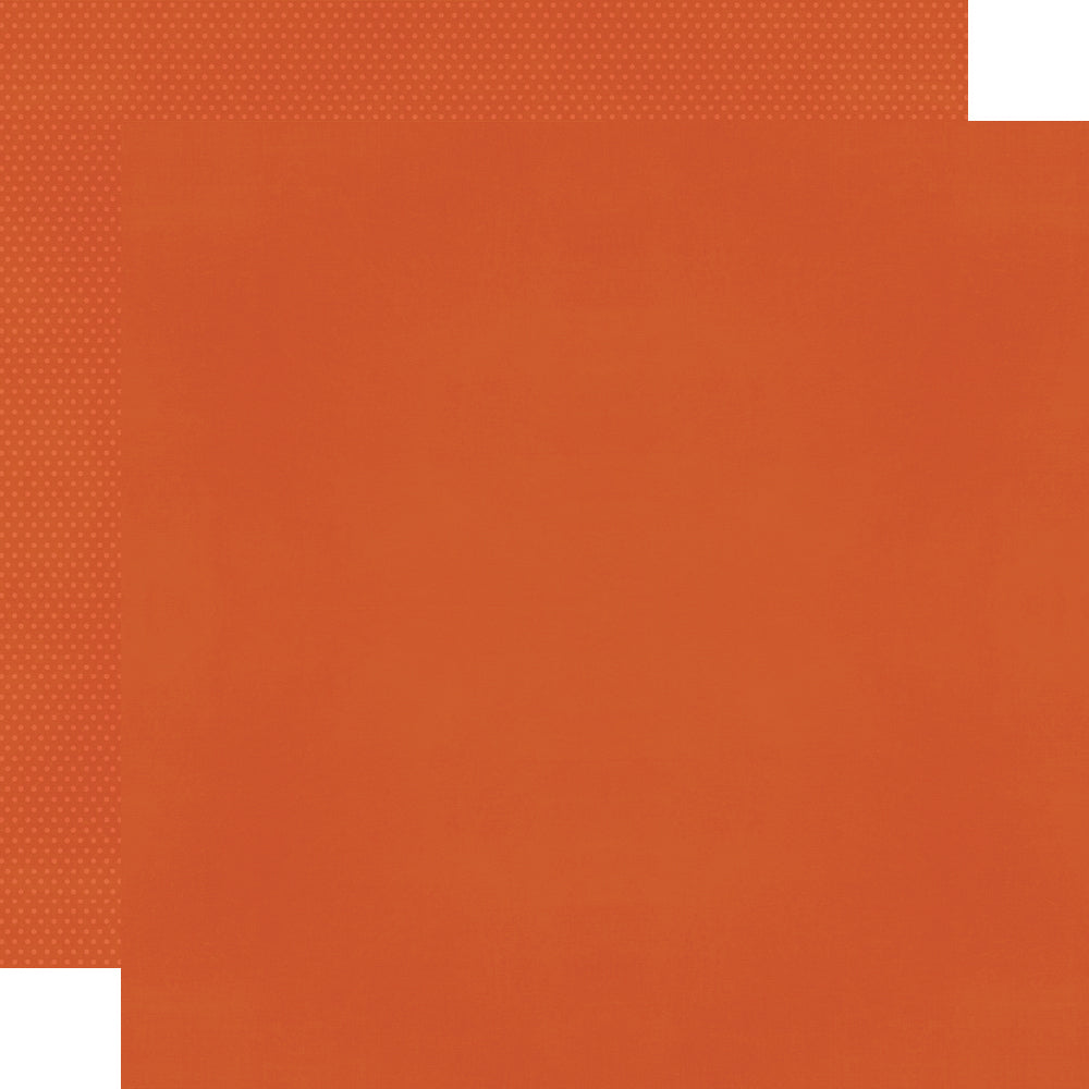Color Vibe 12x12 Textured Cardstock - Pumpkin