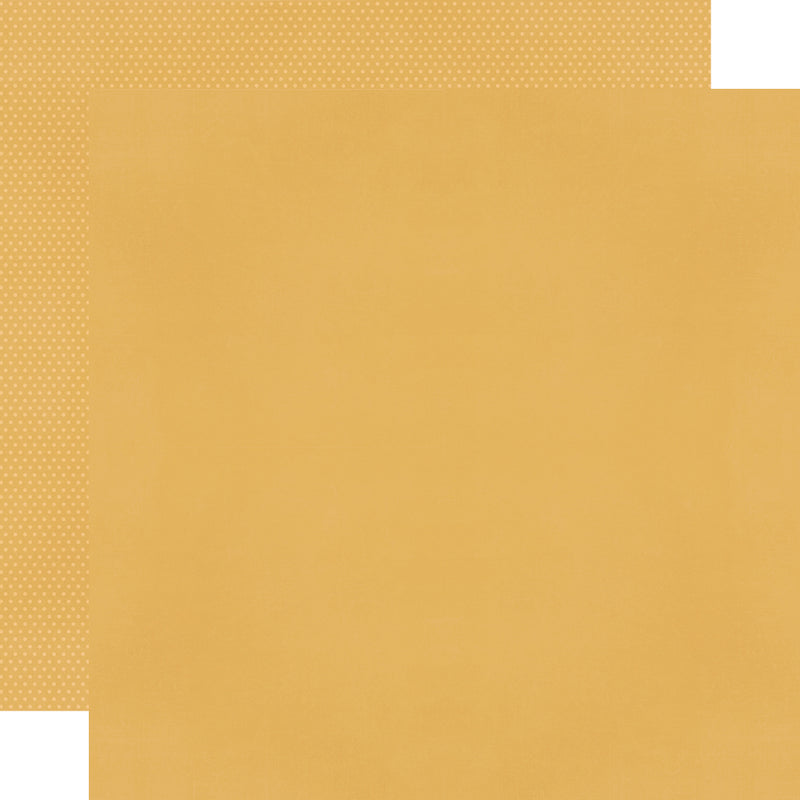 Color Vibe 12x12 Textured Cardstock - Mustard