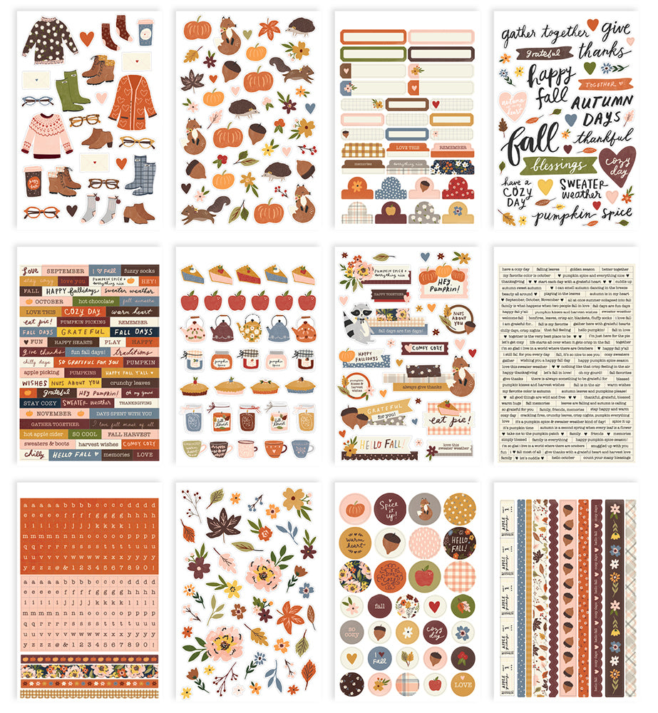Cozy Days - Sticker Book