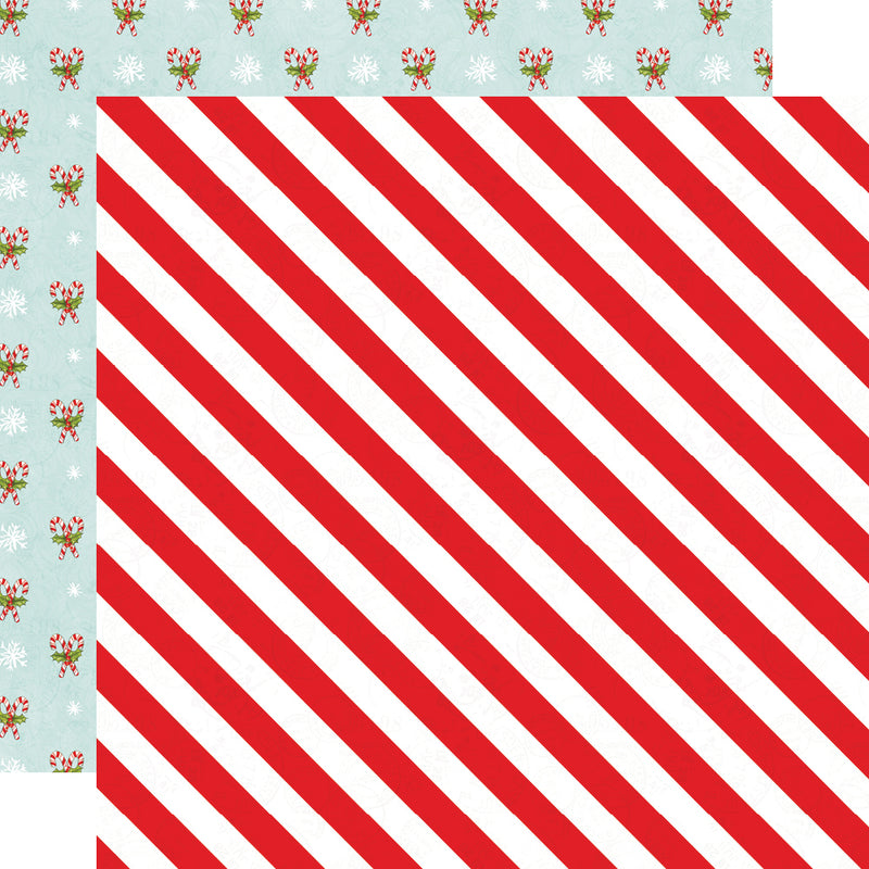 Simple Vintage North Pole - Cardstock Sticker