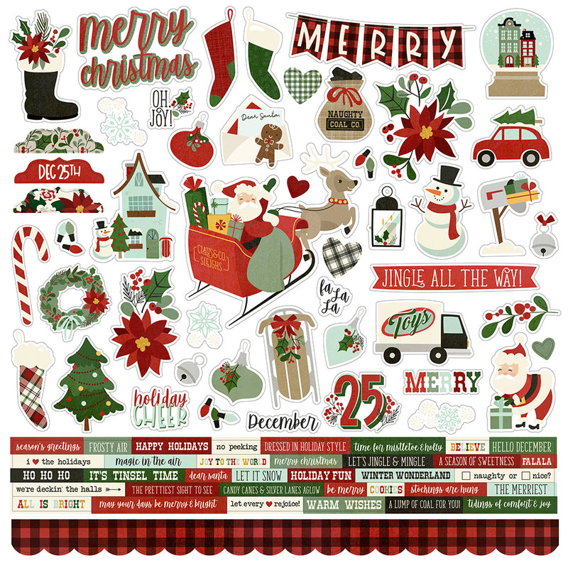 Jingle All the Way 12x12 Collection Kit