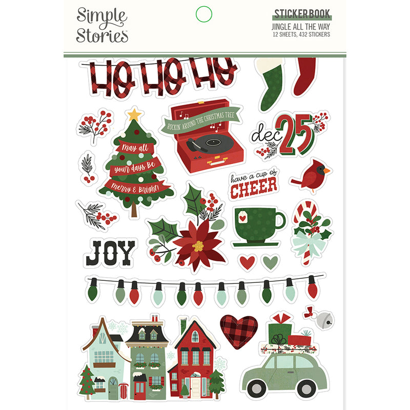 Jingle All the Way - Sticker Book