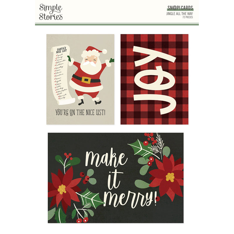 Jingle All the Way - SN@P! Cards