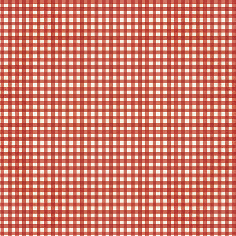 Jingle All the Way - Cranberry Plaid/Gingham
