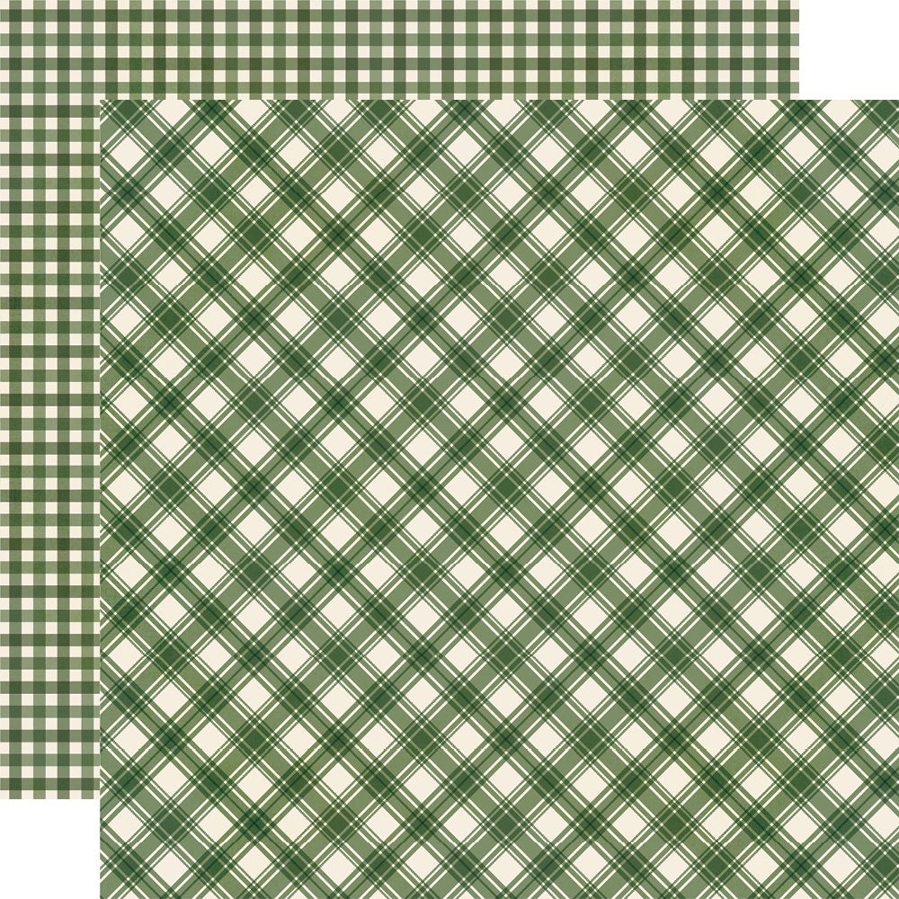 Jingle All the Way - Evergreen Plaid/Gingham