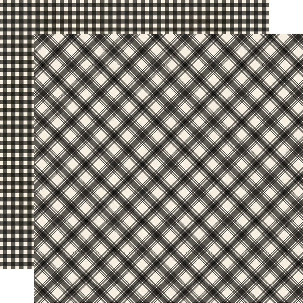 Jingle All the Way - Coal Plaid/Gingham