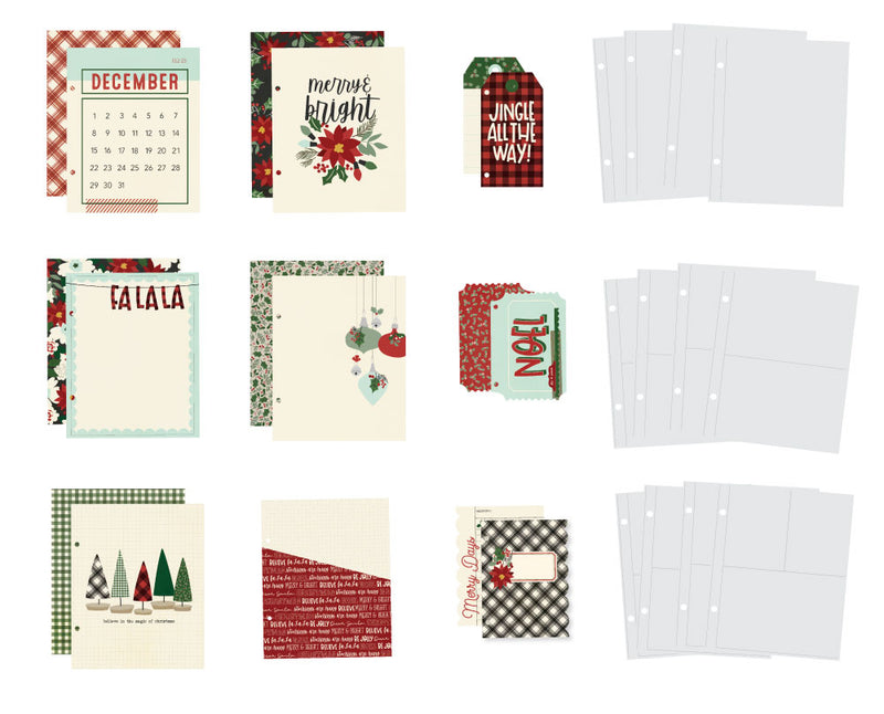 Jingle All the Way - 6x8 SN@P! Holiday Binder
