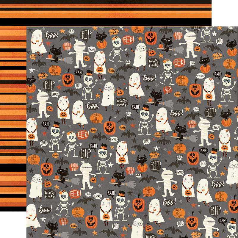 Boo Crew - 6x12 Chipboard