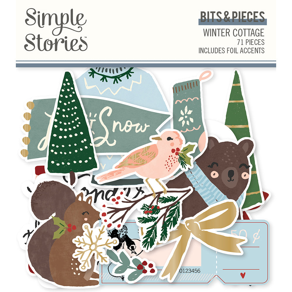 Winter Cottage - Bits & Pieces