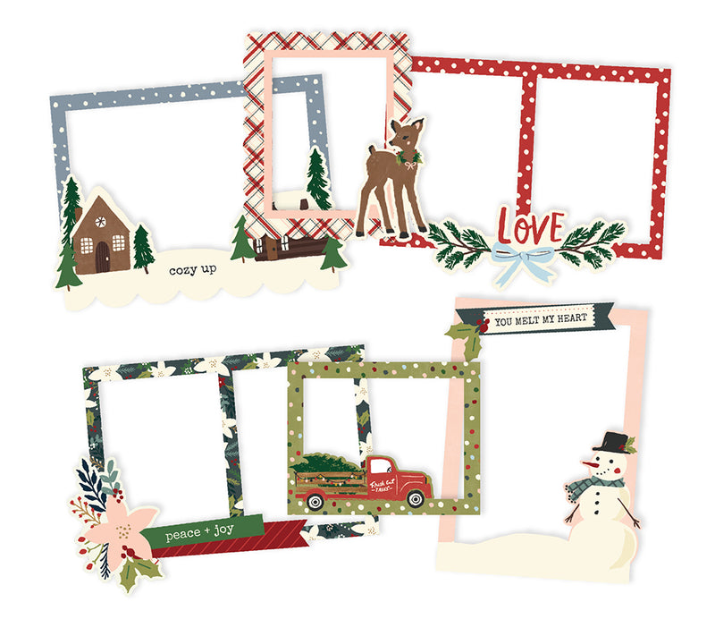 Winter Cottage - Chipboard Frames
