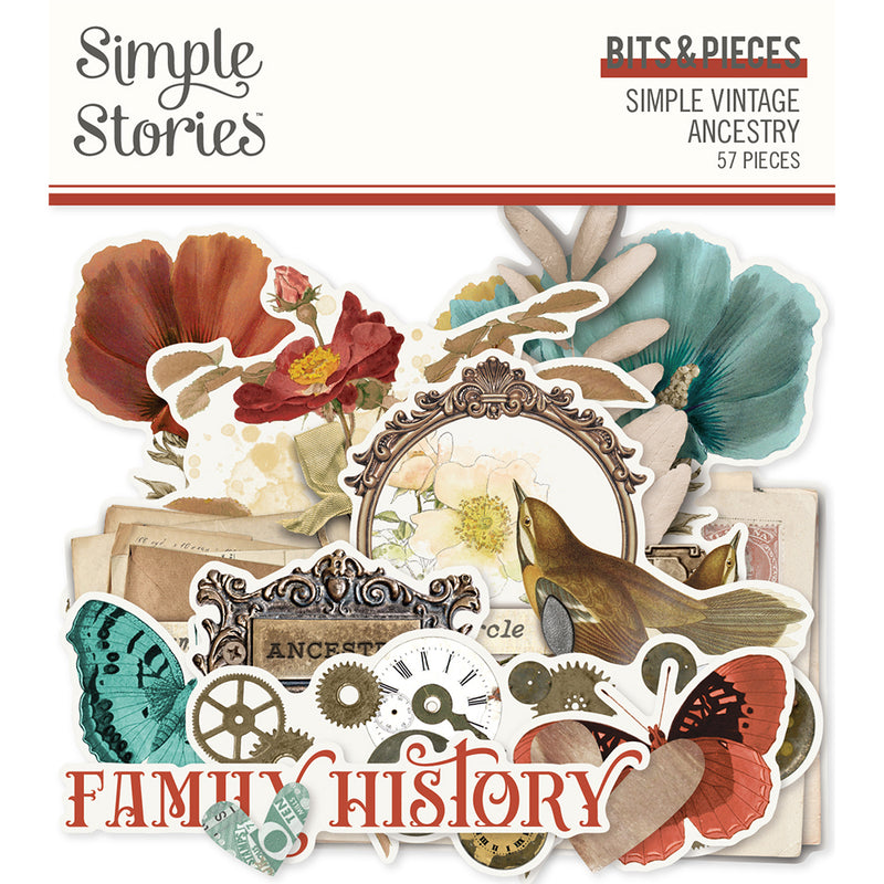 Simple Vintage Ancestry - Bits & Pieces