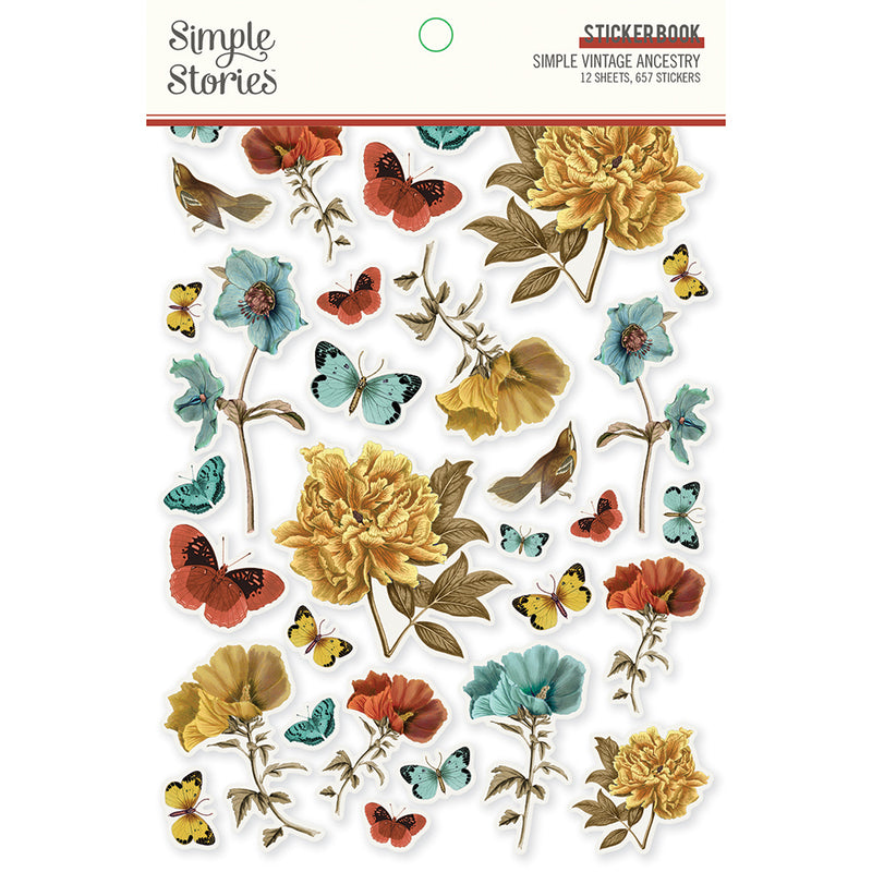 Simple Vintage Ancestry - Sticker Book