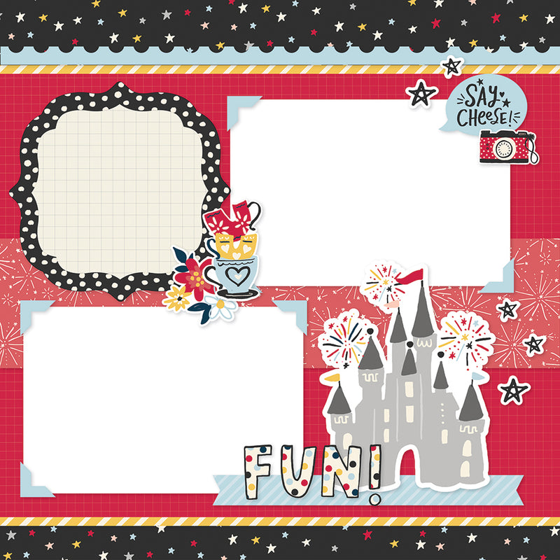 Simple Pages Page Kit - Magical Memories